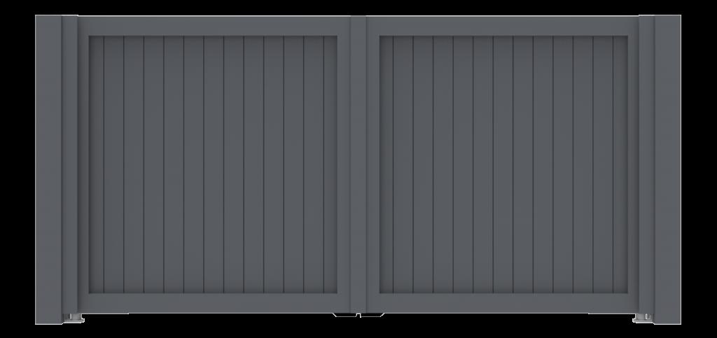 Aluminium poort, toegangspoort en elektrische poorten door De Poortexpert