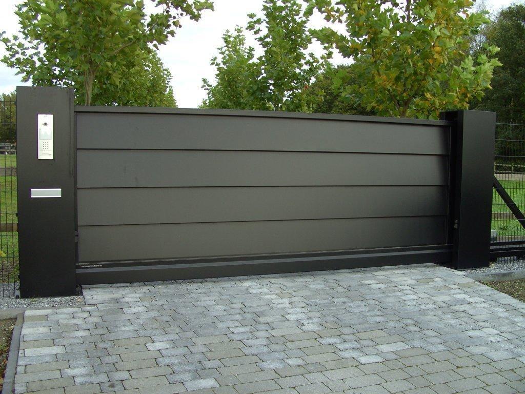 Aluminium kokers en pilaren voor uw poort - De Poortexpert