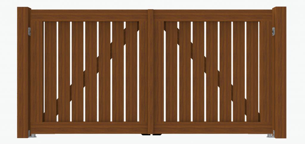 De Poort expert houten poort model 2